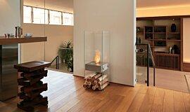 Commercial Space EcoSmart Fire Designer Fireplace Idea