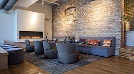Flex 104SS Fireplace Insert - In-Situ Image by EcoSmart Fire