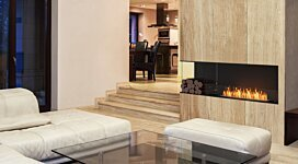 Flex 122LC.BXL Fireplace Insert - In-Situ Image by EcoSmart Fire