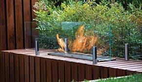 Twin Feet Fixings  - In-Situ Image by EcoSmart Fire