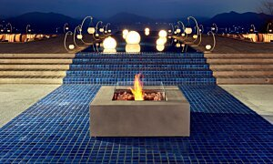 Base 40 Fire Pit - In-Situ Image by EcoSmart Fire