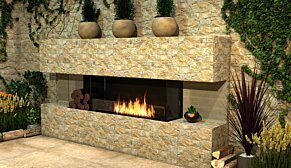 Flex 104BY  - In-Situ Image by EcoSmart Fire