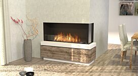 Flex 50RC Right Corner - In-Situ Image by EcoSmart Fire