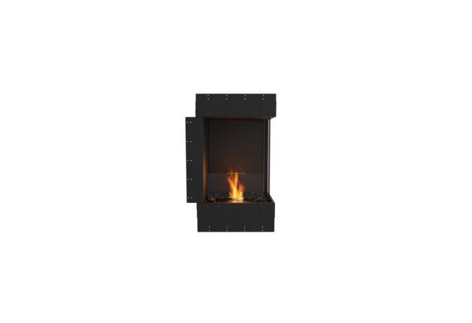 Flex 18RC Right Corner - Ethanol / Black / Uninstalled View by EcoSmart Fire