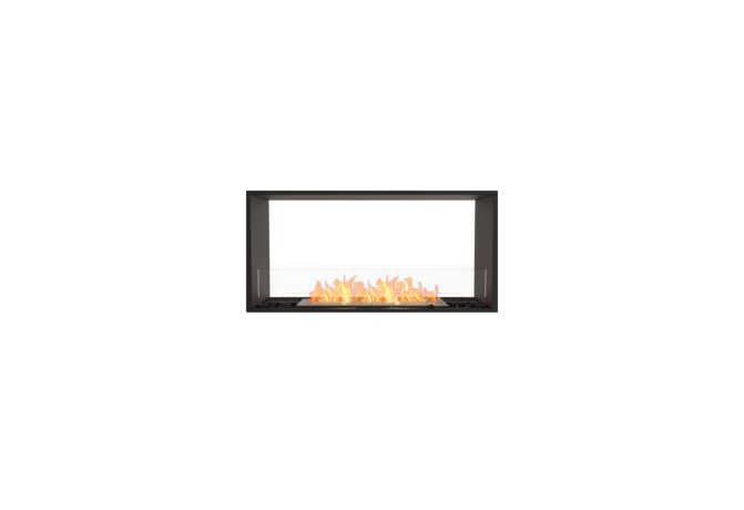 Flex 42DB Double Sided - Ethanol / Black / Installed View by EcoSmart Fire