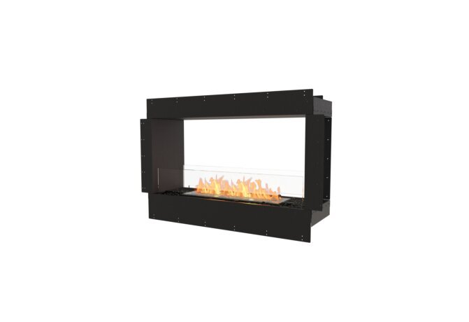 Flex 42DB Double Sided - Ethanol / Black / Uninstalled View by EcoSmart Fire