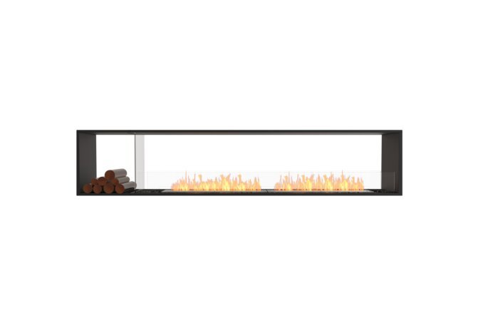 Flex 104DB.BX1 Double Sided - Ethanol / Black / Installed View by EcoSmart Fire
