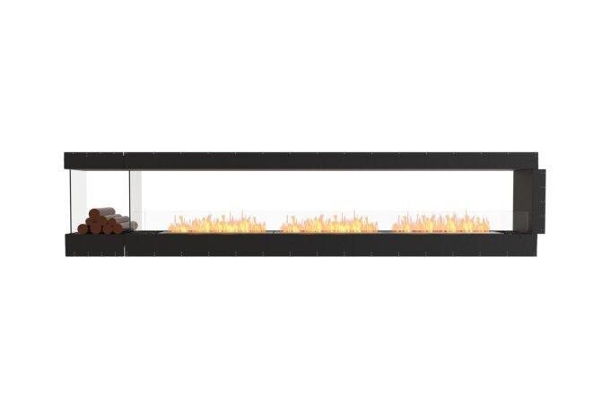 Flex 140PN.BXL Peninsula - Ethanol / Black / Uninstalled View by EcoSmart Fire