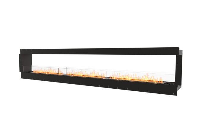 Flex 158DB Double Sided - Ethanol / Black / Uninstalled View by EcoSmart Fire