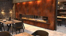 Flex 78DB.BX2 Fireplace Insert - In-Situ Image by EcoSmart Fire