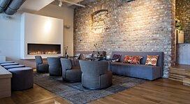 Flex 104SS Fireplace Insert - In-Situ Image by EcoSmart Fire