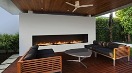 Flex 158SS Fireplace Insert - In-Situ Image by EcoSmart Fire
