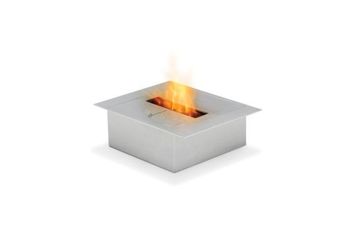 BK5 Ethanol Burner - Ethanol / Stainless Steel by EcoSmart Fire