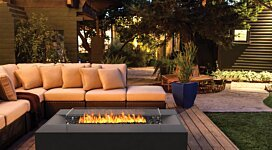 Flo Fire Pit - In-Situ Image by Brown Jordan Fires