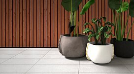 Stitch 50 Plant Pot - In-Situ Image by Blinde Design