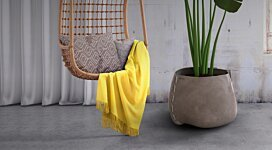 Stitch 75 Plant Pot - In-Situ Image by Blinde Design