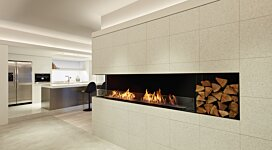 Flex 122LC Fireplace Insert - In-Situ Image by EcoSmart Fire