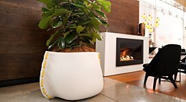 Stitch 125 Plant Pot - In-Situ Image by Blinde Design