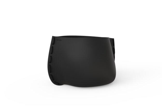 Stitch 75 Planter - Graphite / Black by Blinde Design