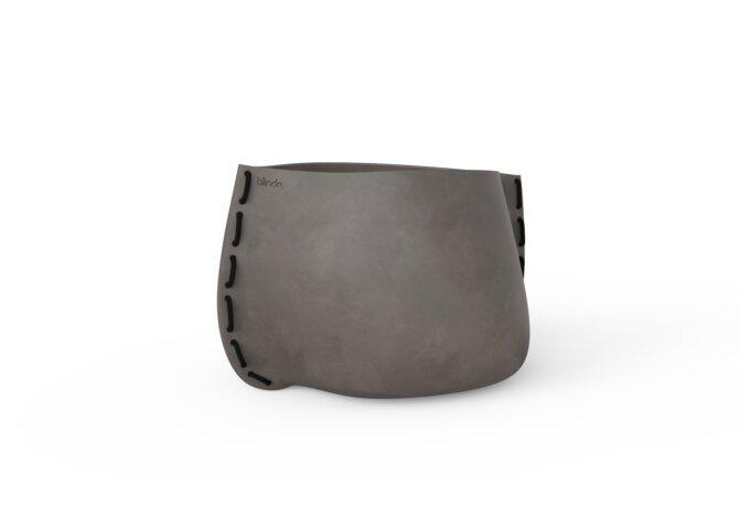 Stitch 75 Planter - Natural / Black by Blinde Design
