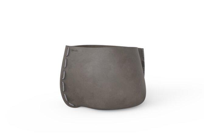 Stitch 75 Planter - Natural / Grey by Blinde Design