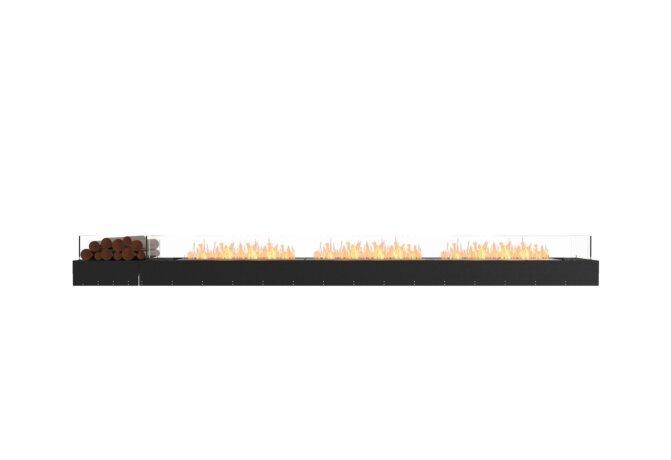 Flex 140BN.BX1 Bench - Ethanol / Black / Uninstalled View by EcoSmart Fire