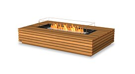 Wharf 65 Fire Pit Table - Studio Image by EcoSmart Fire