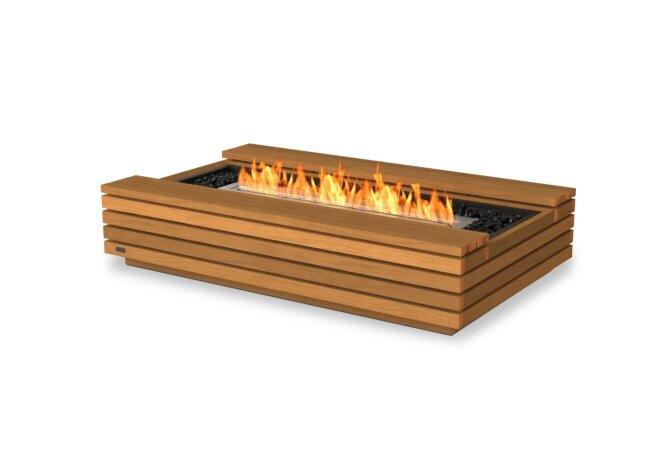 Cosmo 50 Fire Pit - Ethanol / Teak by EcoSmart Fire