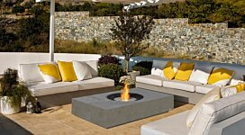 Martini Fire Pit - In-Situ Image by MAD Design Group
