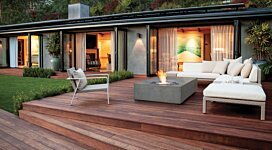 Equinox Fire Pit - In-Situ Image by MAD Design Group