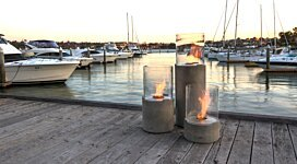 Lighthouse 300 Freestanding - In-Situ Image by EcoSmart Fire
