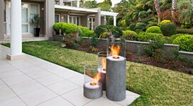 Lighthouse 300 Fire Pit - In-Situ Image by MAD Design Group