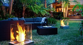 Mini T Fire Pit - In-Situ Image by MAD Design Group