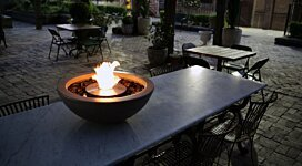 Mix 600 Fire Pit - In-Situ Image by MAD Design Group