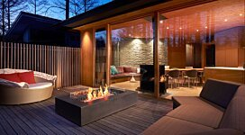 Wharf Fire Pit - In-Situ Image by MAD Design Group