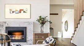 Firebox 720CV Indoor - In-Situ Image by EcoSmart Fire