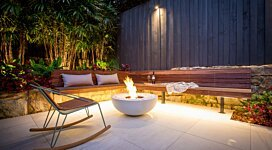 Mix 850 Fire Pit Bowl - In-Situ Image by EcoSmart Fire