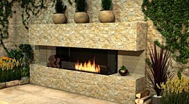 Flex 140BY.BXR Fireplace Insert - In-Situ Image by EcoSmart Fire