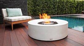 Kove Fire Pit Table - In-Situ Image by Brown Jordan Fires