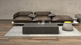 Bloc L5 Coffee Table - In-Situ Image by Blinde Design
