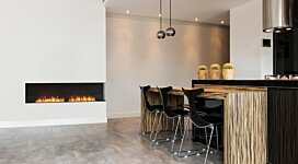 Flex 122RC Fireplace Insert - In-Situ Image by EcoSmart Fire