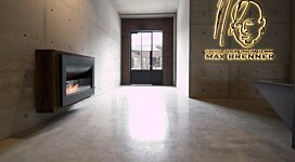 Firebox 1100CV Best Seller - In-Situ Image by EcoSmart Fire