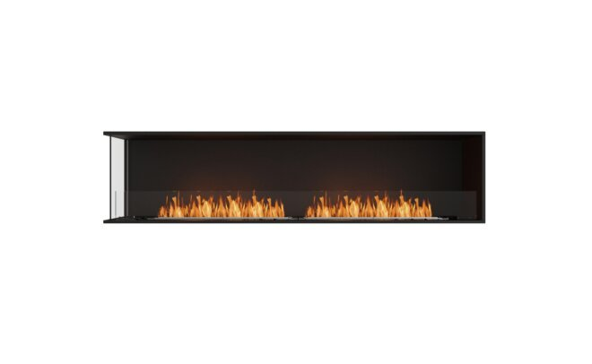 Left Corner Fireplace Insert by MAD Design Group