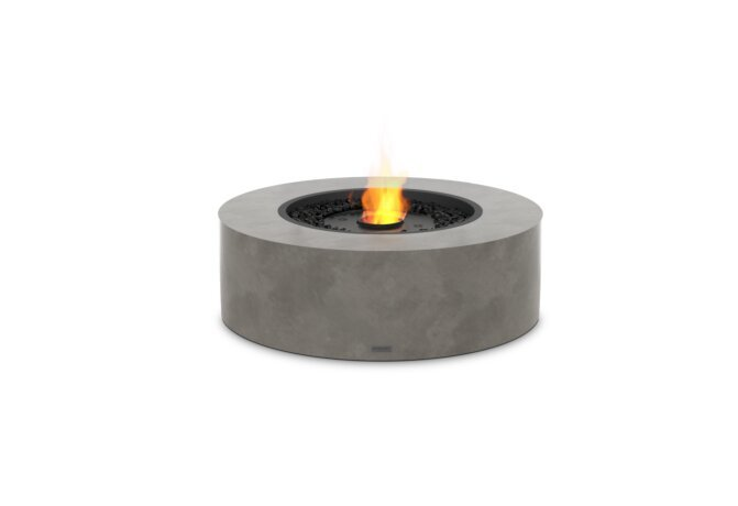 Ark 40 Fire Pit - Ethanol - Black / Natural by EcoSmart Fire