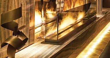 Hot Hotels Embrace Fire Design